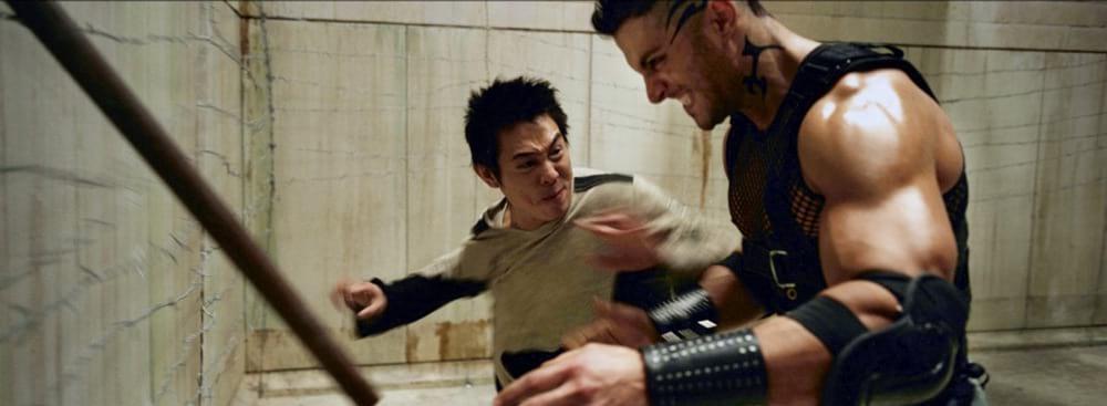 Scène de combat de Jet Li dans Danny The Dog