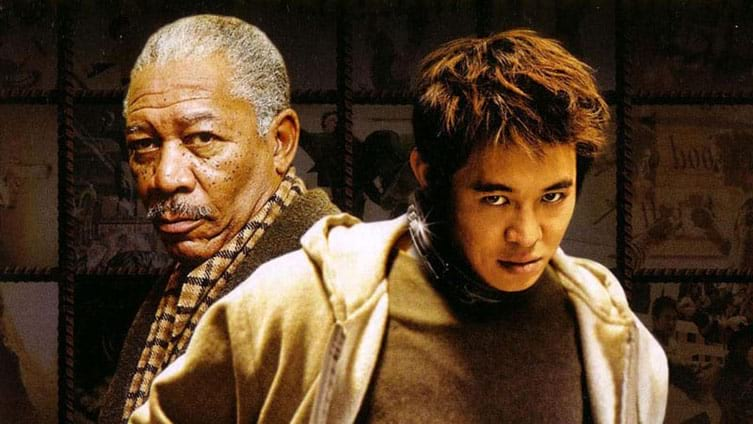 Morgan Freeman et Jet Li dans Danny The Dog, de Louis Leterrier