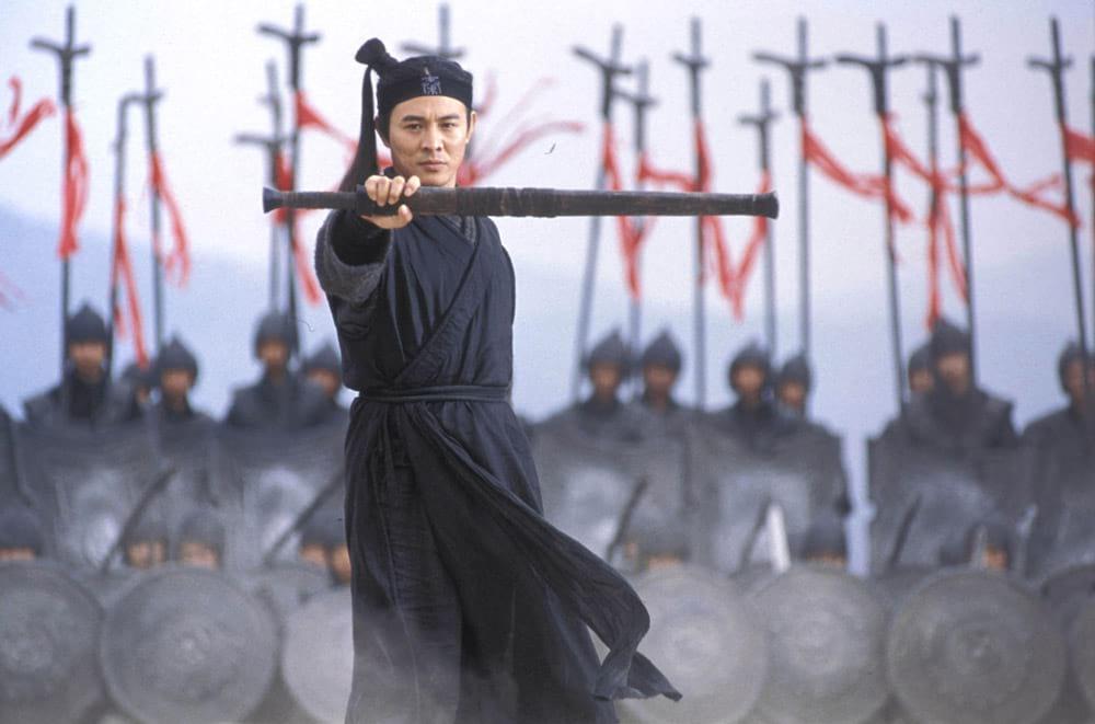Jet Li dans Hero, de Zhang Yimou