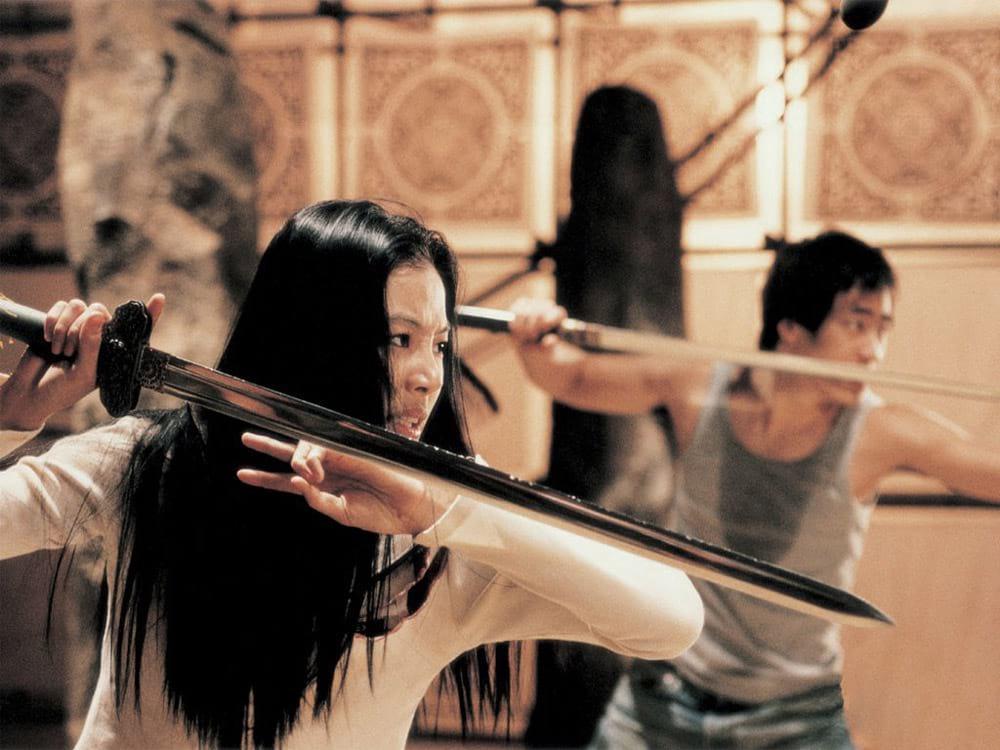 Arahan : scène d'entraînement au combat
