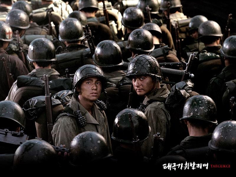 Frères de Sang, avec Won Bin et Jang Dong Gun