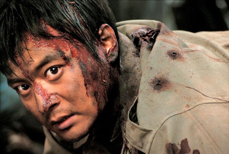 L'acteur coréen Jang Dong Gun dans Frères de Sang