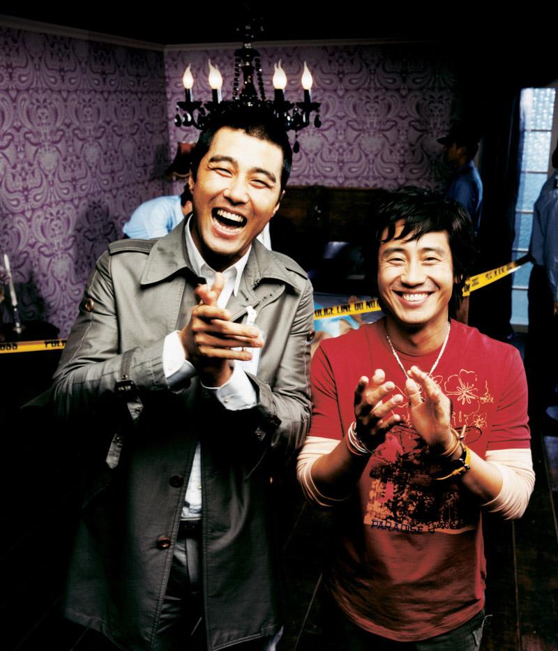 Cha Seung-Won et Shin Ha-Gyun dans Murder Take One