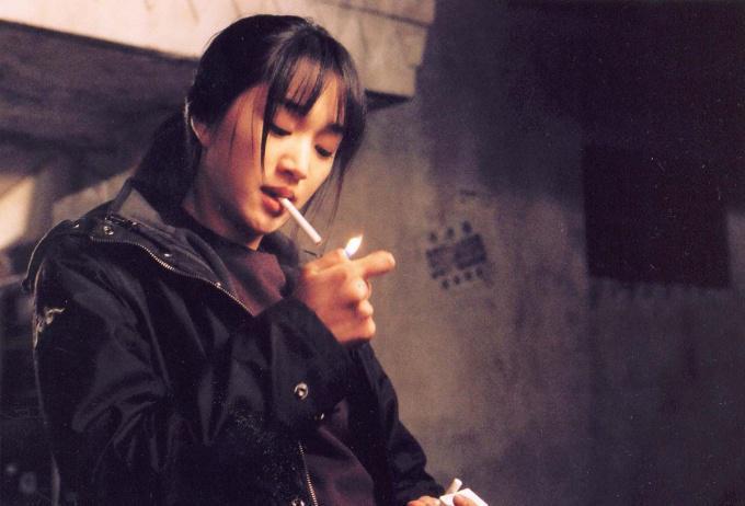 L'actrice coréenne Soo Ae