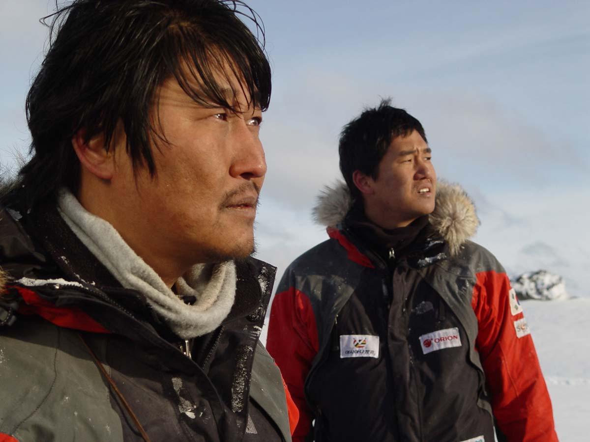Antartic Journal, de Yim Pil Yung (2005)