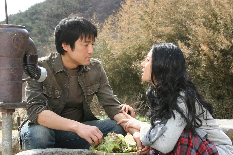 Ji Jin Hee et Yum Jung-Ah dans Le Vieux Jardin