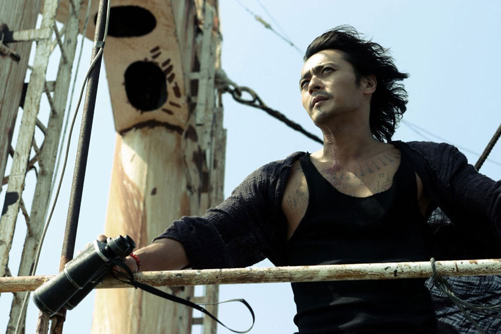 Jang Dong Gun dans le film coréen Typhoon