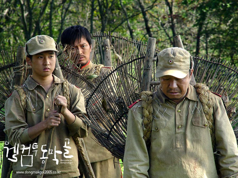 Ryu Deok Hwan dans Welcome to Dongmakgol