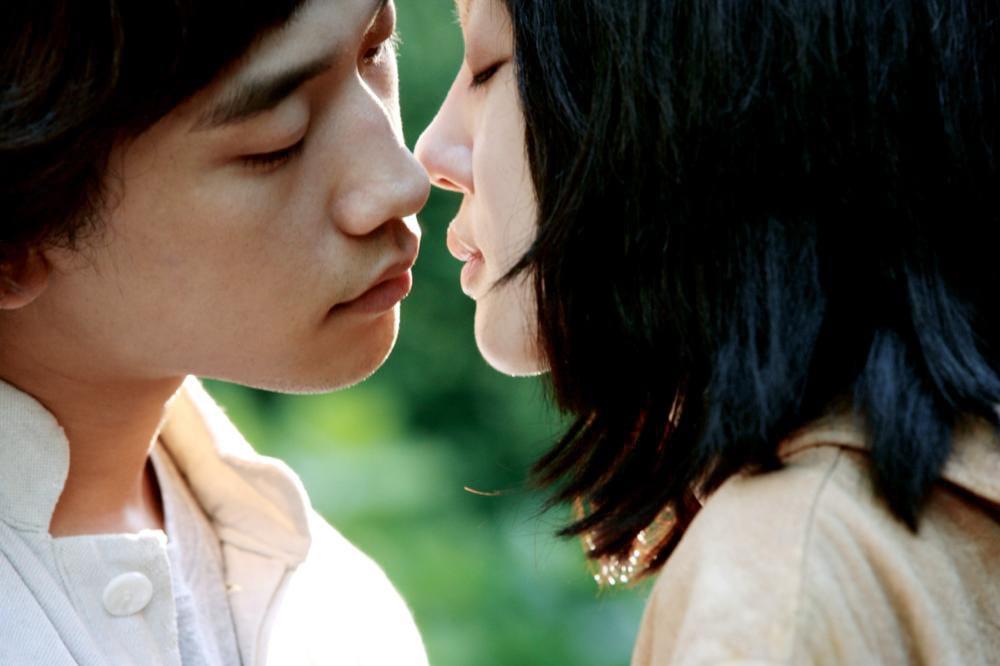 Rain et Im Soo Jung : scène de baiser