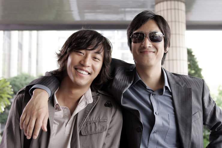 Oh Man Seok et Lee Sun Kyun