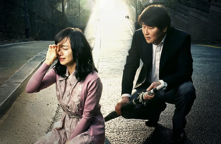 Song Kang Ho console Jeon Do Yeon dans Secret Sunshine