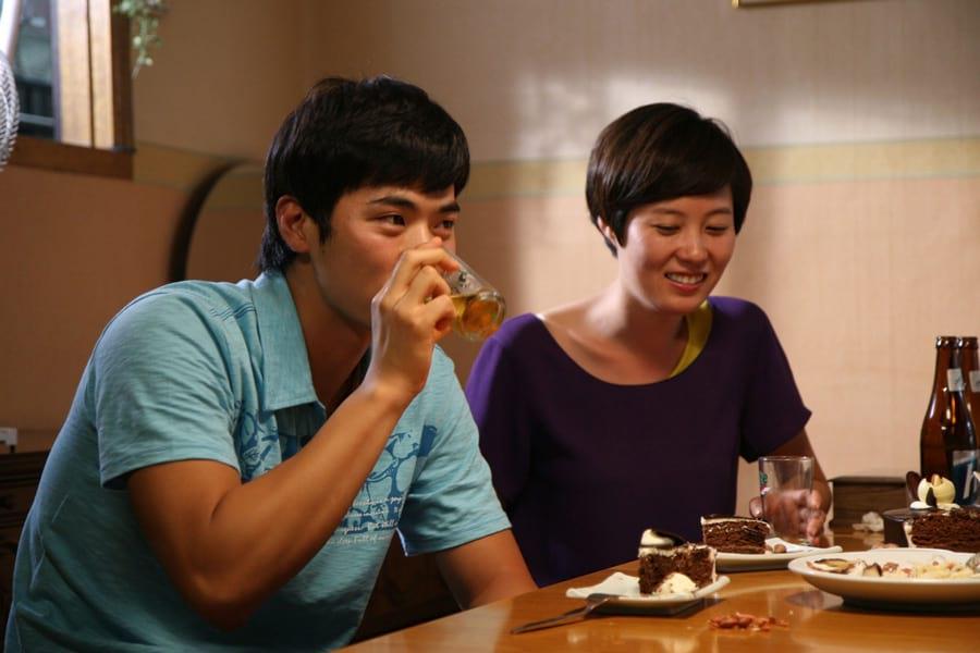 Kim Sang Kyung et Moon So Ri
