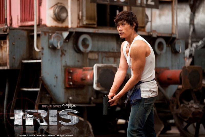 Lee Byung Hun dans la série coréenne Iris