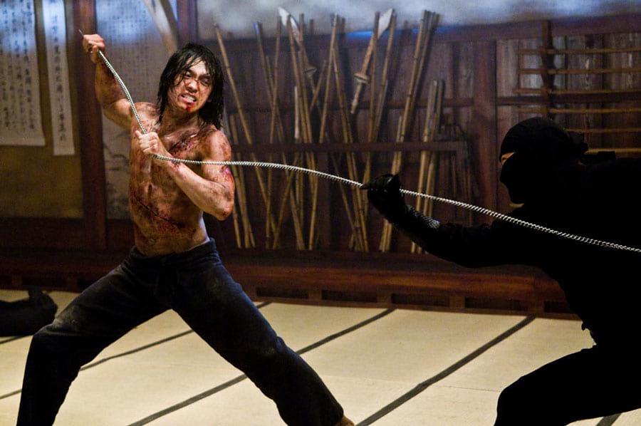 Rain fighting in Ninja Assassin