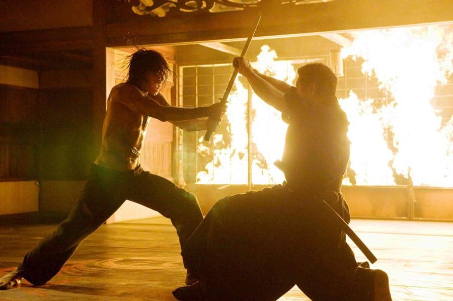 Combat au sabre dans Ninja Assassin