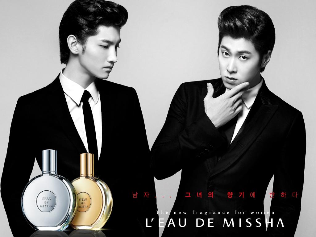 Yunho et Changmin pour Missha