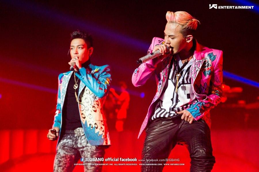 G-Dragon et Seungri à Londres