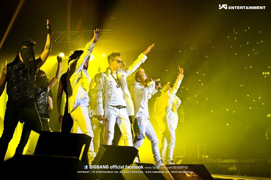 Bigbang en concert 2012