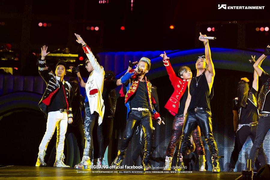 Le concert de Bigbang à Londres