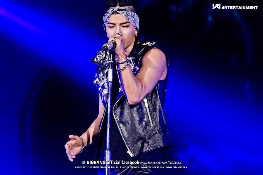Le chanteur Taeyang