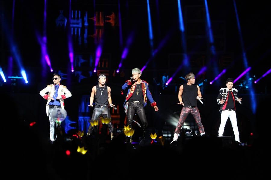 Bigbang au Wembley Arena