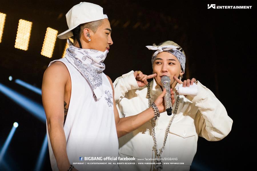 Taeyang et G-Dragon (Londres, 2012)