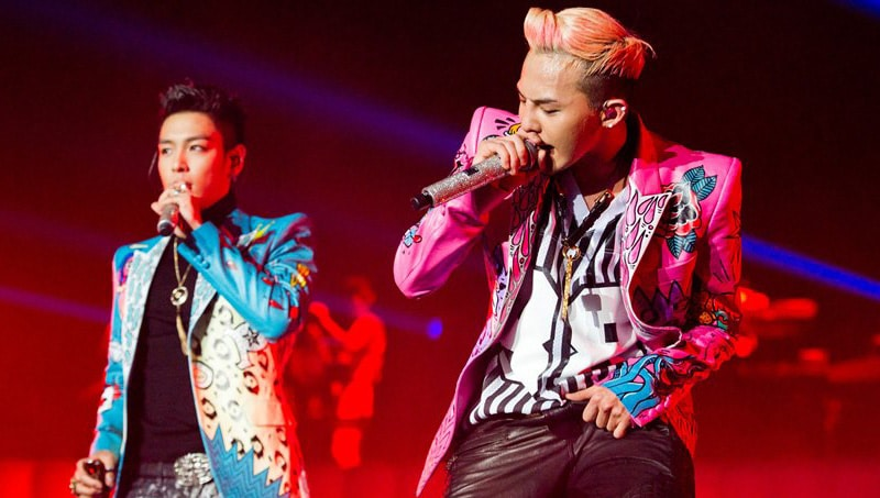Bigbang en concert à Londres