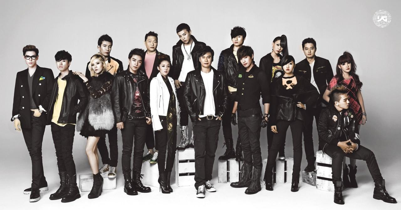 Toute la YG Family