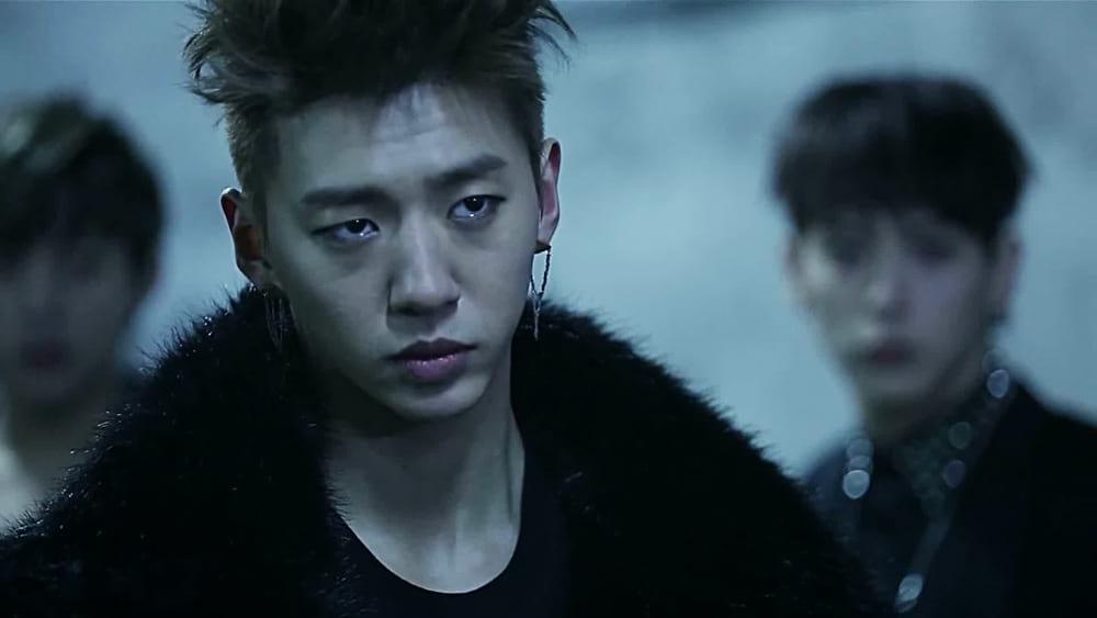 Bang Yong Guk dans le clip vidéo One Shot de B.A.P