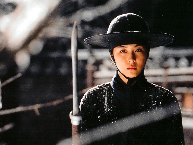 Ha Ji-Won en guerrière dans Duelist