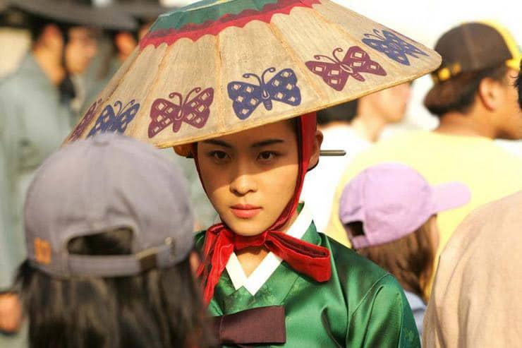 La belle actrice coréenne Ha Ji-Won