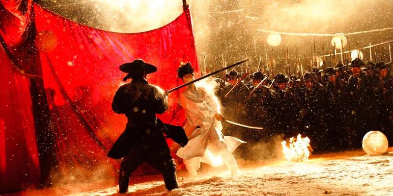 scène de combat du film coréen Duelist
