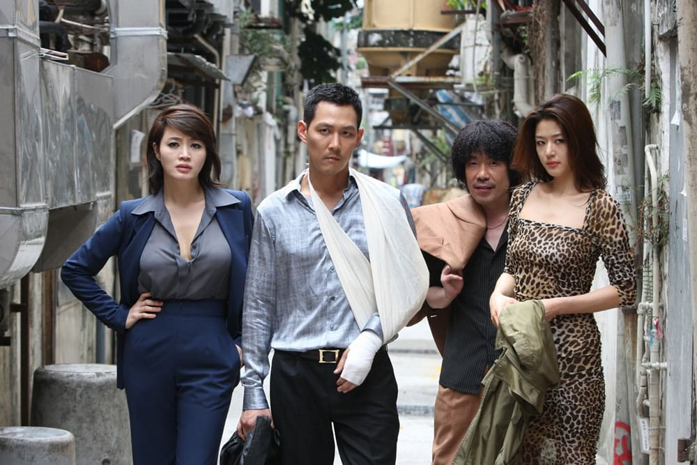 Kim Hye Soo, Lee Jung Jae et Jeon Ji Hyun dans The Thieves