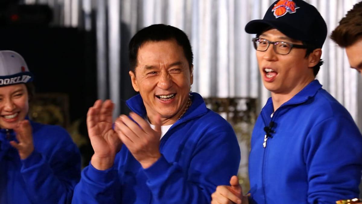 Jackie Chan dans le variety show coréen Running Man