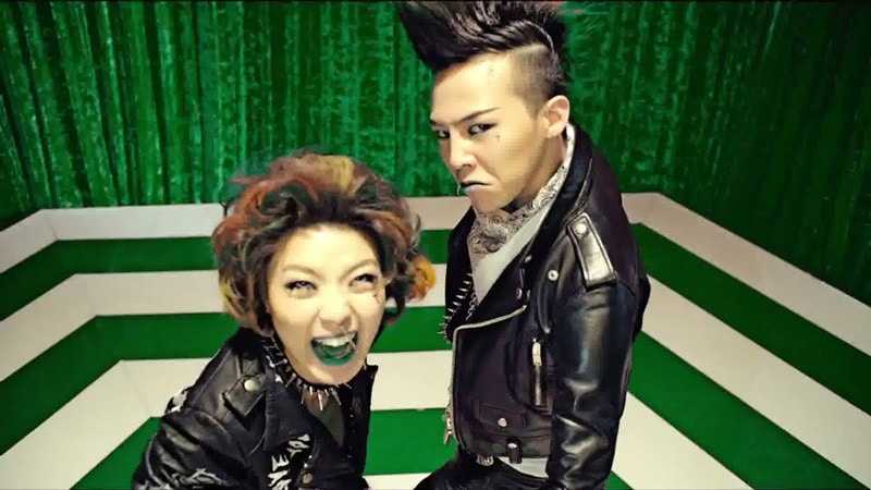 G-Dragon et Ahn Young Mi