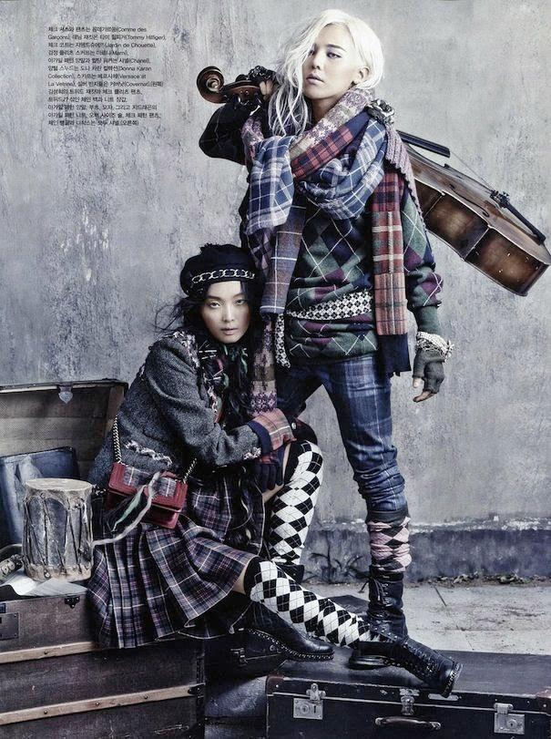 G-Dragon, Vogue, August 2013