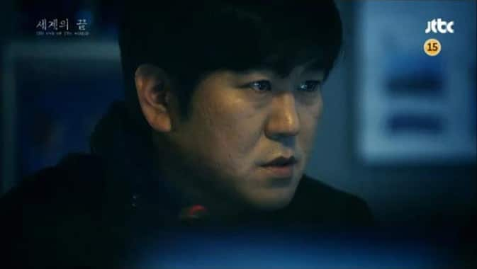 Yoon Je Moon dans The End Of The World (JTBC)