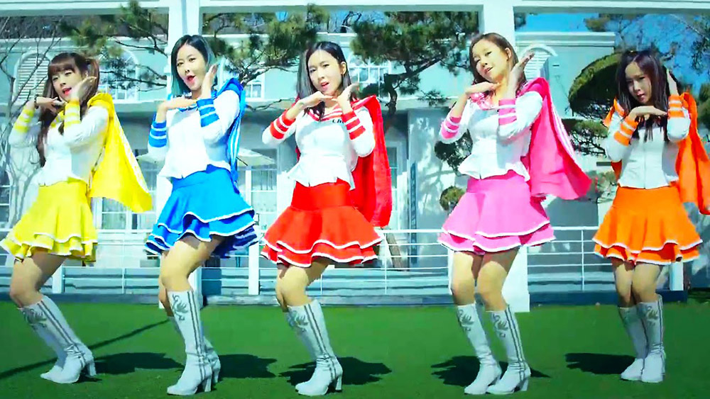 FM : le girls band Crayon Pop