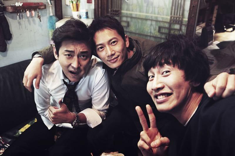 Joo Ji Hoon, Ji Sung et Lee Kwang Soo
