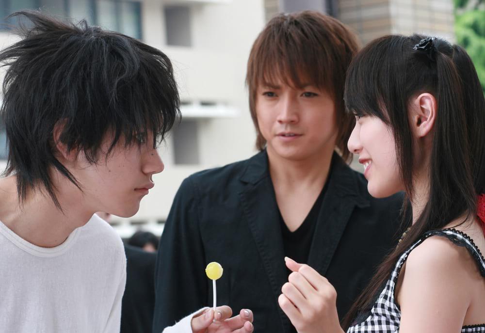 L, Light Yagami et Misa Misa