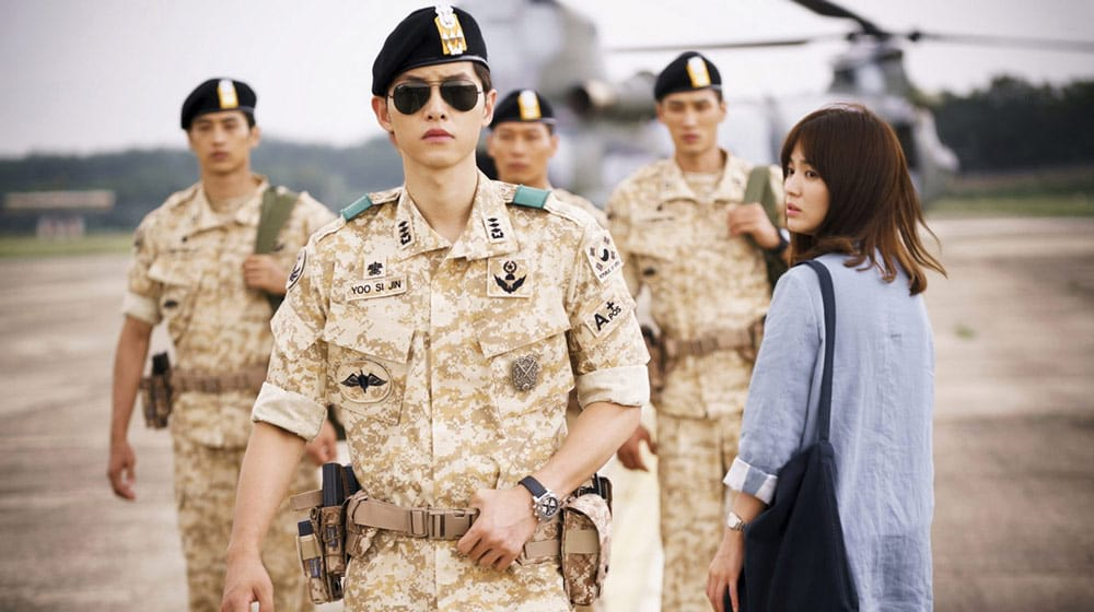 Song Joong Ki dans le drama damour Les Descendants du Soleil