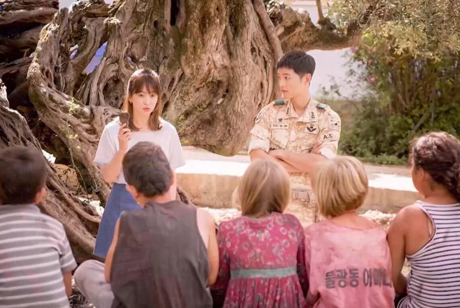 Le drama coréen Descendants of the Sun