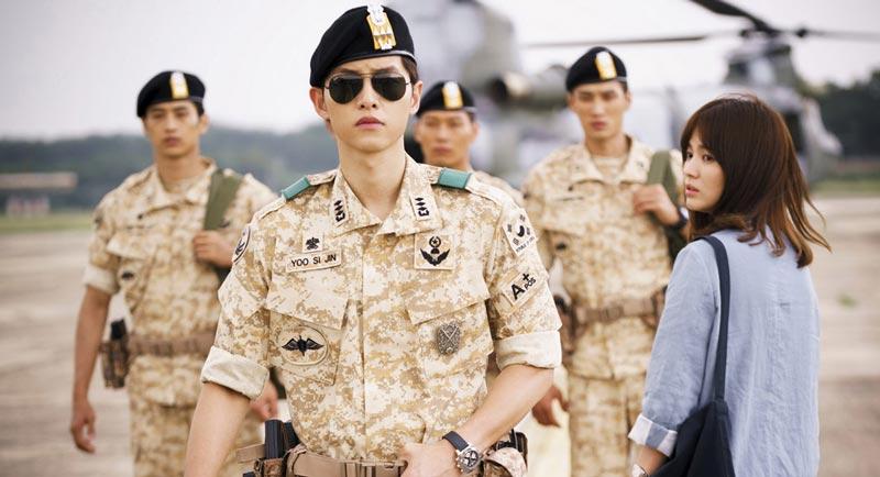 Avis : Descendants Of The Sun, avec Song Joong Ki et Song Hye Kyo