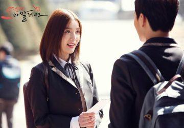 Seolhyun et Yeo Jin Goo dans Orange Marmalade