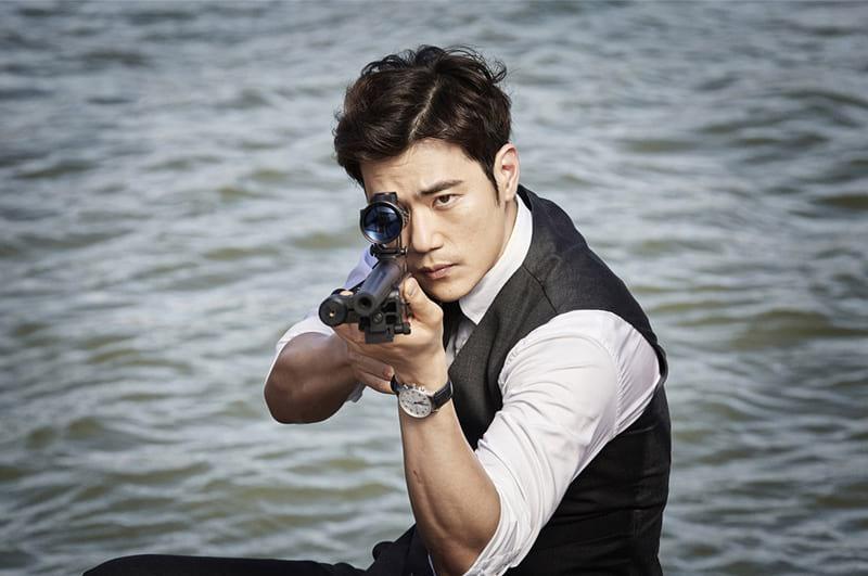 Kim Kang Woo dans Goodbye Mr. Black