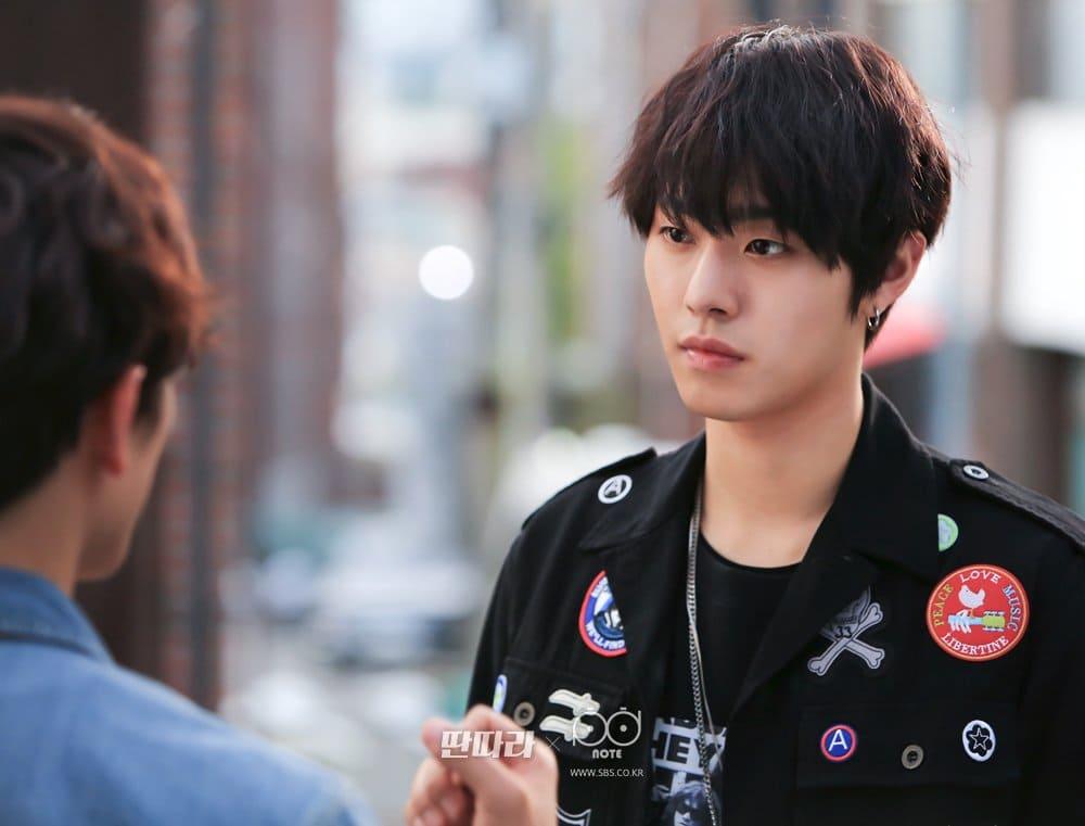 Ahn Hyo Seop dans le drama Entertainer