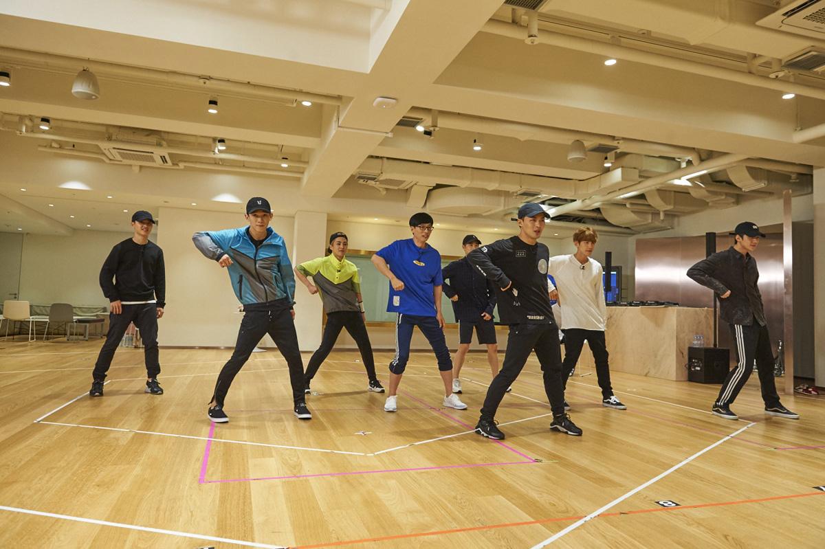 EXO X Yoo Jae Suk Dancing King