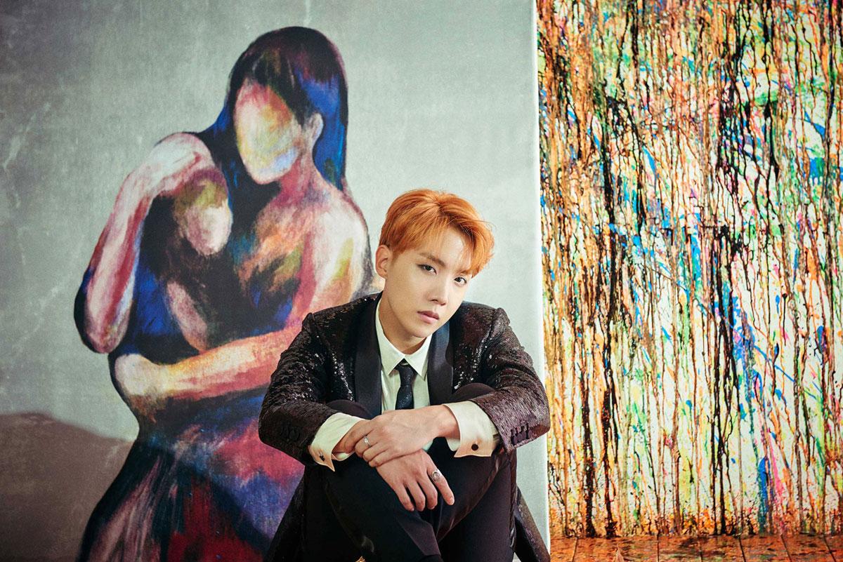 Jung Ho Seok, alias J-Hope, de BTS