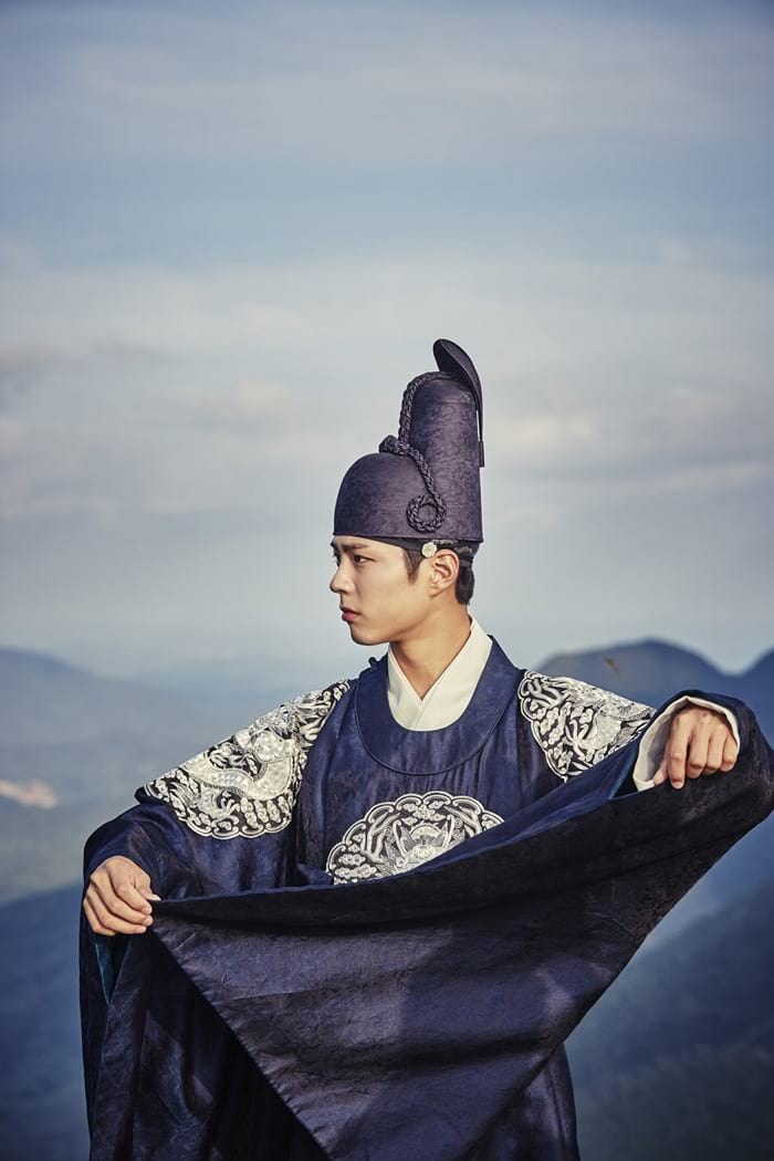 Park Bo Gum dans Moonlight Drawn By Clouds