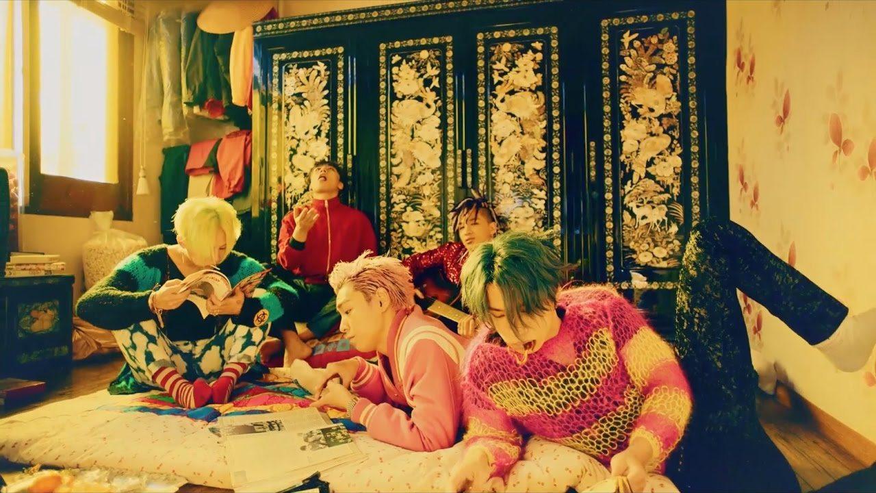 Le groupe BIGBANG pour FXXIT